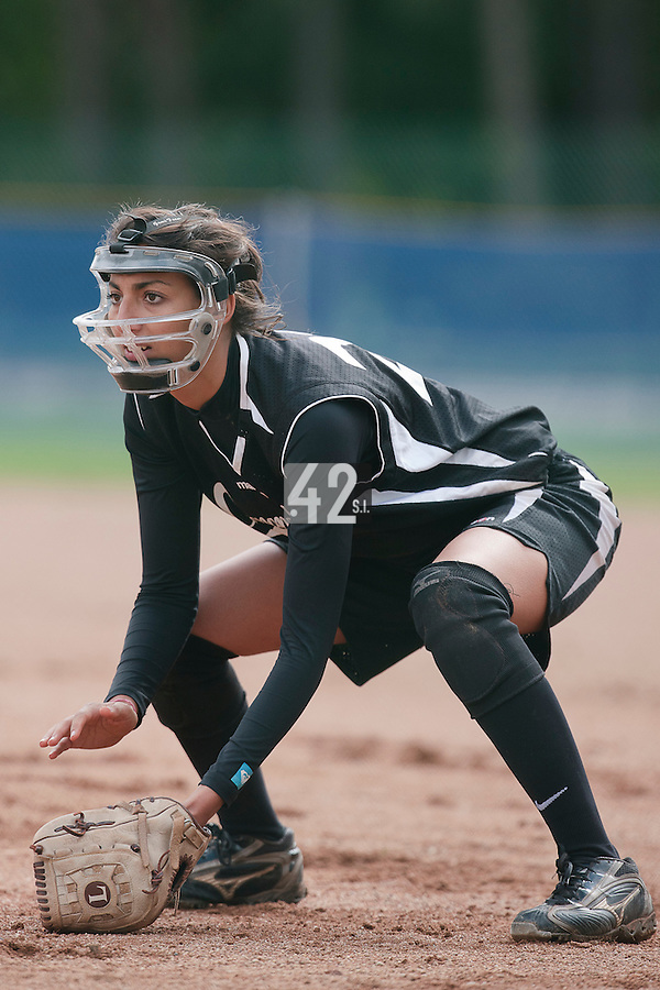 25 September 2010: Equipe de Toulon. Finale du Championnat de France de Softball Feminin, Bron, France.