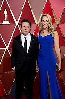 www.acepixs.com<br /> <br /> February 26 2017, Hollywood CA<br /> <br /> Actors Michael J. Fox (L) and Tracy Pollan arriving at the 89th Annual Academy Awards at Hollywood &amp; Highland Center on February 26, 2017 in Hollywood, California.<br /> <br /> By Line: Z17/ACE Pictures<br /> <br /> <br /> ACE Pictures Inc<br /> Tel: 6467670430<br /> Email: info@acepixs.com<br /> www.acepixs.com
