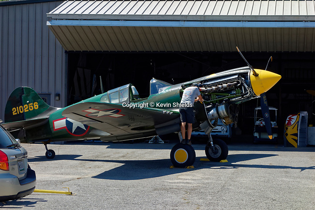 Aircraft Restoration Workshop, Owls Head Transportation Museum, Maine