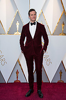 Armie Hammer arrives on the red carpet of The 90th Oscars&reg; at the Dolby&reg; Theatre in Hollywood, CA on Sunday, March 4, 2018.<br /> *Editorial Use Only*<br /> CAP/PLF/AMPAS<br /> Supplied by Capital Pictures