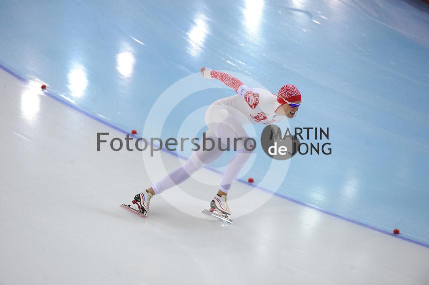 OLYMPICS: SOCHI: Adler Arena, 15-02-2014, Men's 1500m, Denis Yuskov (RUS), ©photo Martin de Jong