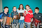 FUN TIME: Having a fun time at the Sult na nOg at Tralee IT on Saturday l-r: Stephen O'Leary, Kilcummin, Shannon Howe, Listry, Orla Holly, Niamh Cullen and Padraig Holly all from Ballydonoghue..