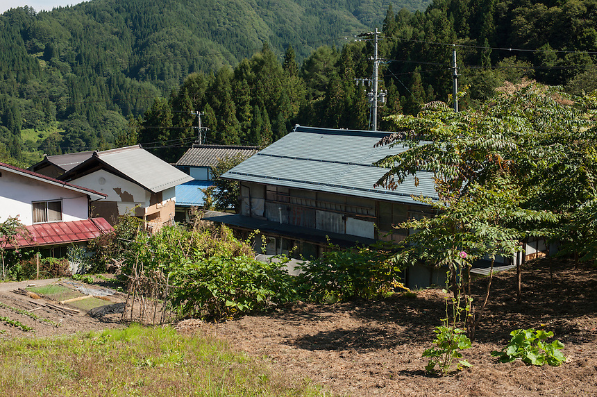 Miyadaira Village is tucked amidst the forest mountains in rural Nagano Prefecture.