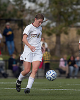 Boston College defender Alyssa Pember (6) at midfield. Boston College defeated Marist College, 6-1, in NCAA tournament play at Newton Campus Field, November 13, 2011.