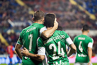 Real Betis Balompie's Joaquin and Ruben Castro during La Liga match. November 27, 2015. (ALTERPHOTOS/Javier Comos)