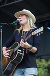 Holly Williams performs at the Austin City Limits Music Festival in Austin, Texas.