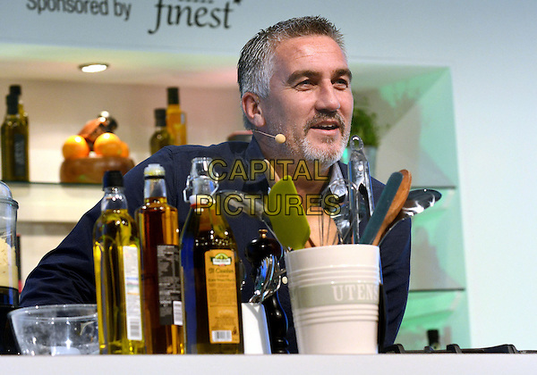 LONDON, ENGLAND - NOVEMBER 15: Paul Hollywood  at the BBC Good Food Show, Olympia on November 15, 2013 in London, England<br /> CAP/PP/BK<br /> &copy;Bob Kent/PP/Capital Pictures