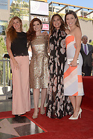 LOS ANGELES - OCT 6:  Conie Britton, Debra Messing, Mariska Hargitay, Sophia Bush_ at the Debra Messing Star Ceremony at the Hollywood Walk of Fame on October 6, 2017 in Los Angeles, CA