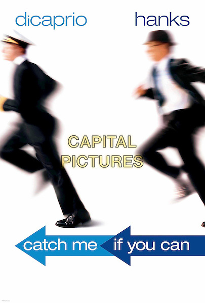 POSTER ART.in Catch Me If You Can.Ref: FBAW.**filmstill-editorial use only**.www.capitalpictures.com.sales@capitalpictures.com.Supplied by Capital Pictures