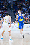 Nate Wolters during Real Madrid vs Maccabi Fox of Day 2 of Euroleague Basketball. October 10, 2019. (ALTERPHOTOS/Francis Gonzalez)