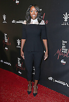 """20 September 2016 - Los Angeles, California - Aja Naomi King. ABC """"How To Get Away With Murder"""" Season 3 Premiere held at  Pacific Theater at the Grove. Photo Credit: PMA/AdMedia"""