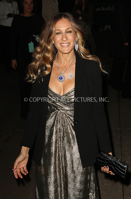 WWW.ACEPIXS.COM....April 18 2013, New York City....Sarah Jessica Parker arriving at the Tiffany & Co. Blue Book Ball at Rockefeller Center on April 18, 2013 in New York City. ....By Line: Zelig Shaul/ACE Pictures......ACE Pictures, Inc...tel: 646 769 0430..Email: info@acepixs.com..www.acepixs.com