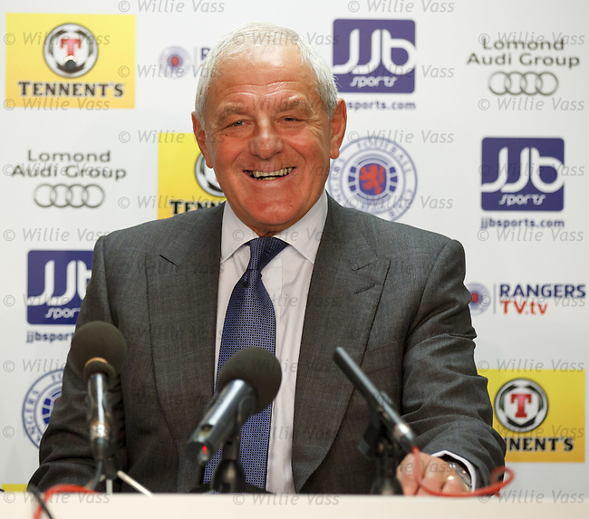 Walter Smith back in the hotseat at Ibrox