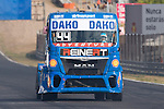 German driver Stephanie Halm belonging German team Stephanie Halm during the super pole SP2 of the XXX Spain GP Camion of the FIA European Truck Racing Championship 2016 in Madrid. October 02, 2016. (ALTERPHOTOS/Rodrigo Jimenez)