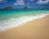 Lanikai Beach, Island of Oahu, Hawaii  Often voted most beautiufl beach in United States