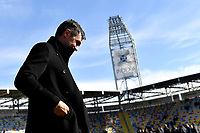 Former AC Milan player Paolo Maldini looks on ahead the Serie A 2018/2019 football match between Frosinone and AC Milan at stadio Benito Stirpe, Frosinone, December, 26, 2018 <br />  Foto Andrea Staccioli / Insidefoto
