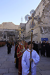 Bethlehem, the Greek Orthodox Christmas procession in Manger Square