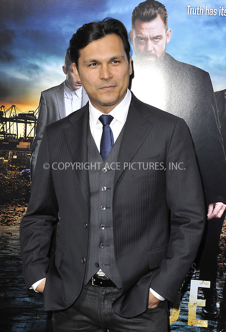WWW.ACEPIXS.COM....March 26 2013, LA....Adam Beach arriving at the 'Rogue' Los Angeles premiere at ArcLight Hollywood on March 26, 2013 in Hollywood, California.....By Line: Peter West/ACE Pictures......ACE Pictures, Inc...tel: 646 769 0430..Email: info@acepixs.com..www.acepixs.com