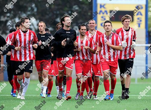 2011-06-07 / Voetbal / seizoen 2011-2012 / Royal Antwerp FC / Eerste training ..Foto: Mpics