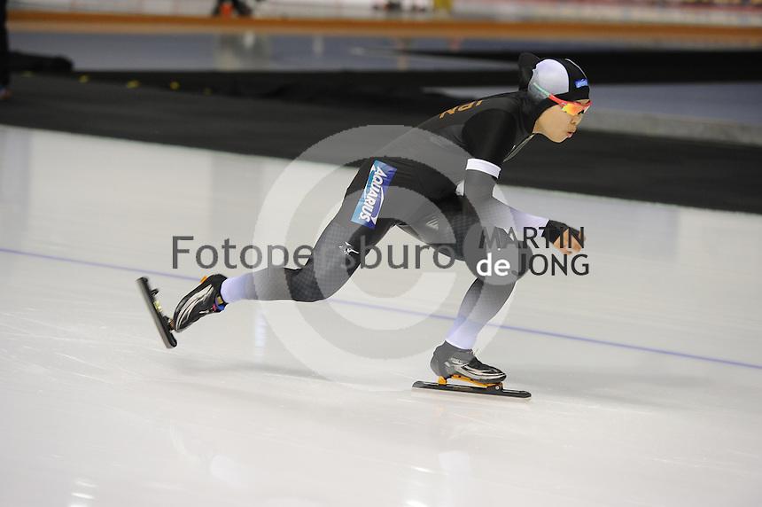 SPEEDSKATING: CALGARY: Olympic Oval, 25-02-2017, ISU World Sprint Championships, 500m Ladies, Maki Tsuji (JPN), ©photo Martin de Jong