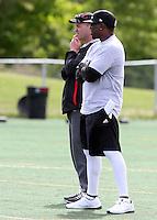 Ike Charlton Rick Campbell Ottawa RedBlacks 2014. Photo Scott Grant
