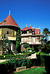 California: San Jose, Winchester Mystery House..Photo copyright Lee Foster, 510/549-2202, lee@fostertravel.com, www.fostertravel.com..Photo #: cajos2103