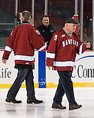 (Scott Farden) Bill Cleary - The Union College Dutchmen defeated the Harvard University Crimson 2-0 on Friday, January 13, 2011, at Fenway Park in Boston, Massachusetts.