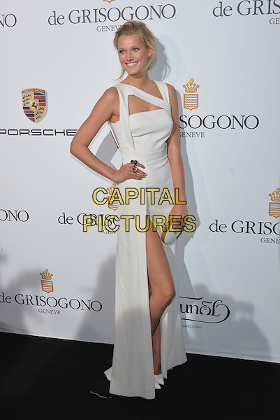 CAP D'ANTIBES, FRANCE - MAY 20:  Toni Garrn attends the De Grisogono dinner party, in collaboration with Gyunel during Cannes film festival at Hotel du Cap-Eden-Roc on May 20, 2014 in Cap d'Antibes, France.<br /> CAP/PL<br /> &copy;Phil Loftus/Capital Pictures