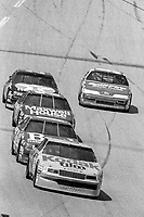 #4 Chevrolet Lumina driven by Ernie Irvan leads en route to victory in the DieHard 500, NASCAR Winston Cup race, Talladega Superspeedway, July 26, 1992.  (Photo by Brian Cleary/bcpix.com)