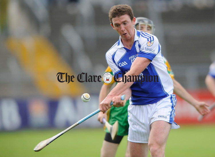 Diarmuid Mc Mahon during their Senior championship quarter final at Cusack park. Photograph by John Kelly.