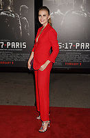 BURBANK, CA - FEBRUARY 05: Actor Jeanne Goursaud arrives at the premiere of Warner Bros. Pictures' 'The 15:17 To Paris' at Warner Bros. Studios, SJR Theater on February 5, 2018 in Burbank, California.<br /> CAP/ROT/TM<br /> &copy;TM/ROT/Capital Pictures