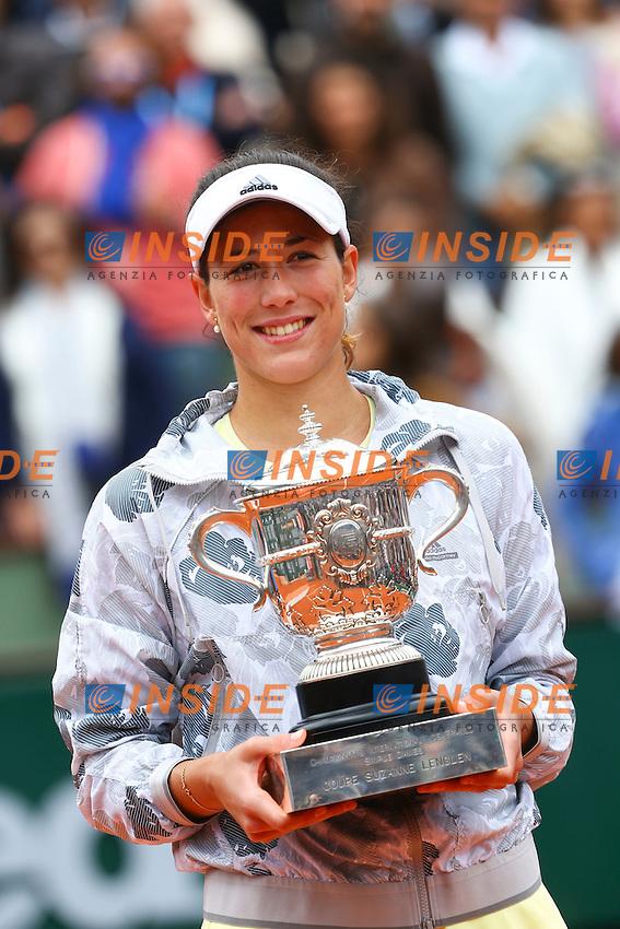 Garbine Muguruza (ESP) <br /> Parigi 04-06-2014<br /> Tennis Roland Garros <br /> Finale Donne - Women's final<br /> Foto Panoramic / Insidefoto<br /> ITALY ONLY