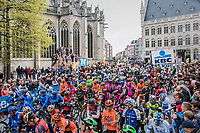 race start in Leuven<br /> <br /> 57th Brabantse Pijl - La Fl&egrave;che Braban&ccedil;onne (1.HC)<br /> 1 Day Race: Leuven &rsaquo; Overijse (197km)