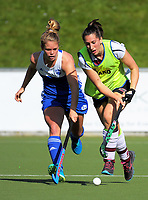 Action from the National Hockey League Women's bronze final between Auckland and Tiger Turf North Harbour at National Hockey Stadium in Wellington, New Zealand on Sunday, 24 October 2017. Photo: Dave Lintott / lintottphoto.co.nz