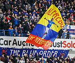 05.02.2020 Rangers v Hibs: Rangers fans