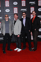 HOLLYWOOD, LOS ANGELES, CA, USA - NOVEMBER 04: Duncan Rouleau, Steven T. Seagle, Joe Casey, Joe Kelly arrive at the Los Angeles Premiere Of Disney's 'Big Hero 6' held at the El Capitan Theatre on November 4, 2014 in Hollywood, Los Angeles, California, United States. (Photo by David Acosta/Celebrity Monitor)