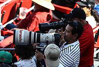 Fotografo aDan Baldobines, Baldovines  <br /> .<br /> Acciones, durante el partido de beisbol entre<br /> Criollos de Caguas de Puerto Rico contra las &Aacute;guilas Cibae&ntilde;as de Republica Dominicana, durante la Serie del Caribe realizada en estadio Panamericano en Guadalajara, M&eacute;xico,  s&aacute;bado 4 feb 2018. <br /> (Foto  / Luis Gutierrez)