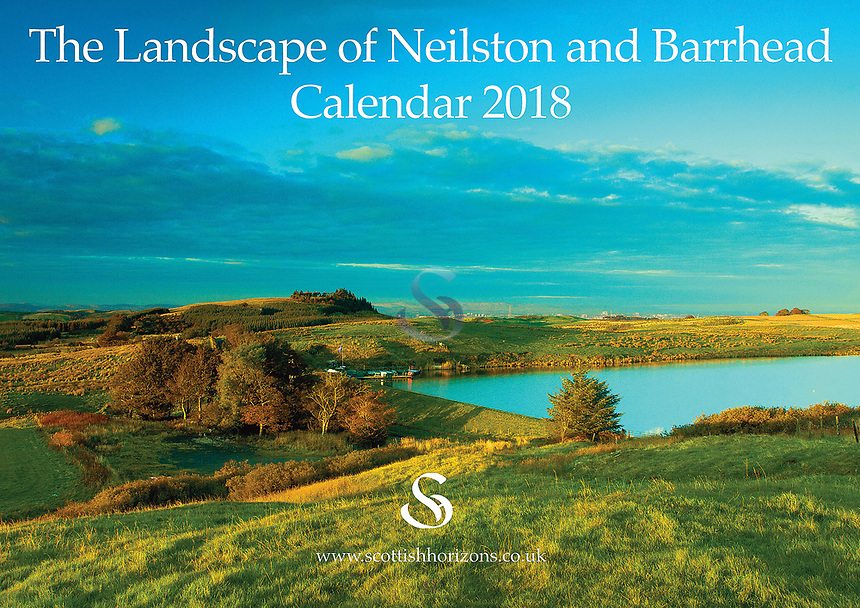 £6.00 (incl. P+P). The Neilston & Barrhead Calendar is now into its 6th year of production. It is delivered A4 in size but opens out to A3 meaning the 12 images of the landscape can be viewed in all their stunning detail while the date pads provide loads of space to write. As always the calendar comes with its own envelope if you are wanting to send it to family or a friend. The price of the calendar is £6.00 which includes P+P within the UK. Please contact me if order is outwith the UK.
