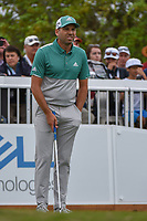 Sergio Garcia (ESP) looks over his tee shot on 7 during day 4 of the WGC Dell Match Play, at the Austin Country Club, Austin, Texas, USA. 3/30/2019.<br /> Picture: Golffile | Ken Murray<br /> <br /> <br /> All photo usage must carry mandatory copyright credit (© Golffile | Ken Murray)