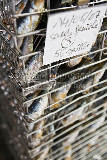 Europe/France/Bretagne/29/Finistère/ Concarneau:  Conserverie de sardines,  Gonidec