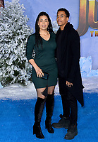 """LOS ANGELES, USA. December 10, 2019: Jordin Sparks & Dana Isaiah at the world premiere of """"Jumanji: The Next Level"""" at the TCL Chinese Theatre.<br /> Picture: Paul Smith/Featureflash"""