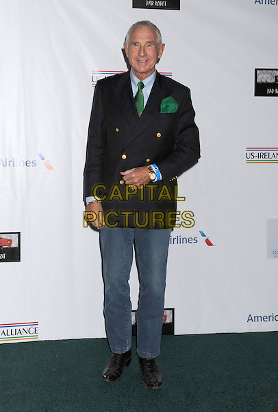 Frederic Prinz von Anhalt.The US-Ireland Alliance Pre-Academy Awards Gala Held At Bad Robot, Santa Monica, California, USA..February 21st, 2013.full length black suit jacket blue trousers green tie.CAP/ROT/TM.©Tony Michaels/Roth Stock/Capital Pictures