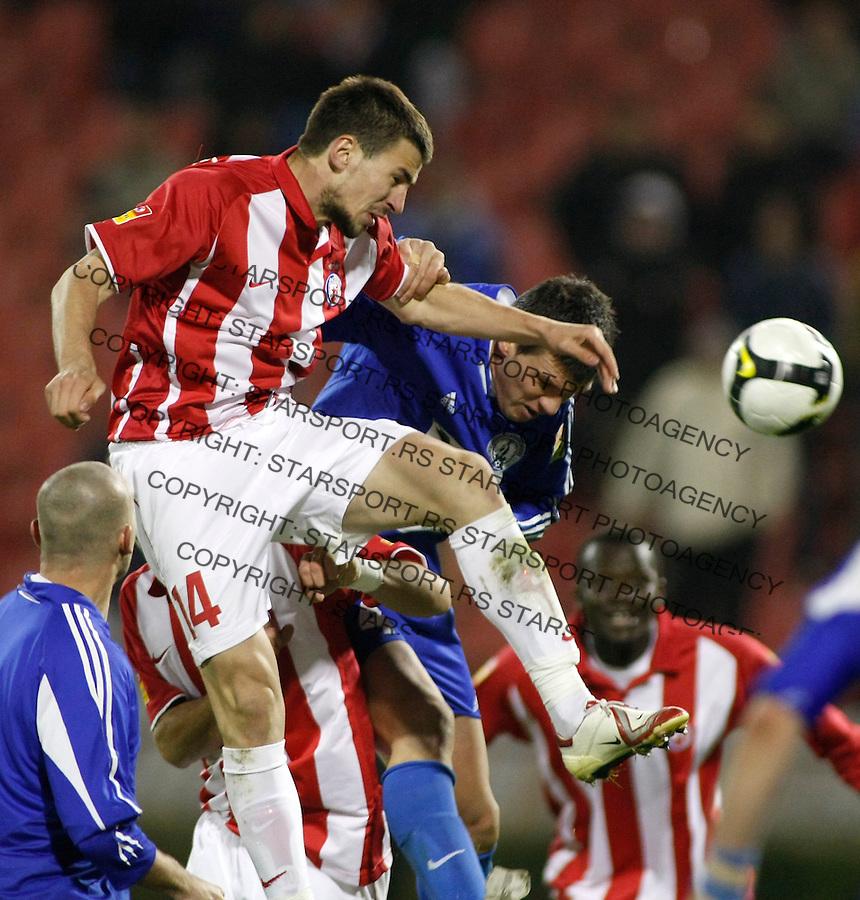 Fudbal, Super liga, season 2008/09.Crvena Zvezda Vs. Hajduk (Kula).Nenad Tomovic.Beograd, 12.10.2008..foto: Srdjan Stevanovic ©
