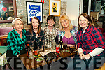 Barn Dance: Pictured at the barn dance in aid of Listowel Tidy Towns group at the rear of William St, Listowel on Friday nigh last were Mary Canavan, Betty Kelly, Mary O'Donoghue, Madeline Collins & Lucy Keraney.