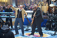"NEW YORK, NY - NOVEMBER 21: Pitbull performs On NBC's ""Today Show"" Thanksgiving Week Of Concerts on The Plaza at Rockefeller Center in New York City on November 20, 2012. Credit mpi44/MediaPunch Inc. /NortePhoto"