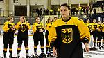 03.01.2020, BLZ Arena, Füssen / Fuessen, GER, IIHF Ice Hockey U18 Women's World Championship DIV I Group A, <br /> Italien (ITA) vs Deutschland (GER), <br /> im Bild Ronja Hark (GER, #8) wird als beste dt. Spielerin geehrt und bekommt Applaus von  den Mitspielerinnen<br /> <br /> Foto © nordphoto / Hafner