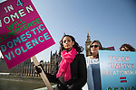 alesha dixon women's violence march