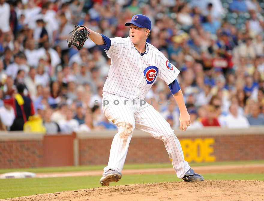 TOM GORZELANNY, of the  Chicago Cubs, in action during the Cubs  game against the  Philadelphia Phillies  in Chicago, IL on July 18, 2010.  The Cubs won the game 11-6.
