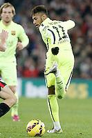 FC Barcelona's Neymar Santos Jr during La Liga match.February 8,2015. (ALTERPHOTOS/Acero) /NORTEphoto.com