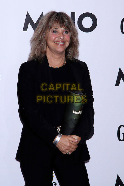 SUZI QUATRO.The Glenfiddich MOJO Honours List award ceremony, the Brewery, Chiswell St., London, England..July 21st, 2011.half length black top jacket blazer trousers  award trophy winner  .CAP/COA/CC.©CC/COA/Capital .